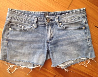 LEE Riders denim cut off jean shorts size 10