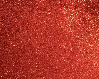 Red Glitter Thick Cotton by metre - use backdrops, costumes
