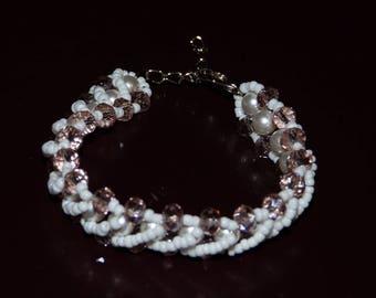 swarovski twisted bracelet