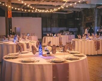 Wine Bottle Lantern | Riesling | Cobalt Blue | Hostess Gift | Christmas Gift | Wedding | Centerpiece | Magical | Starry Lights | Firefly