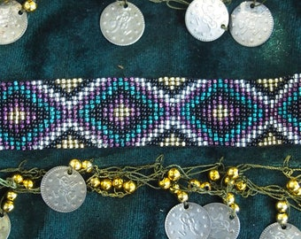 Mexican traditional tribal bracelet