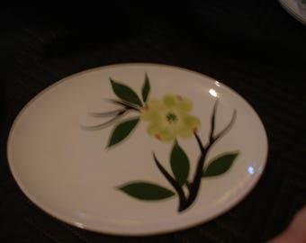 Vintage Dixie Dogwood Serving Platter Handmade by Joni
