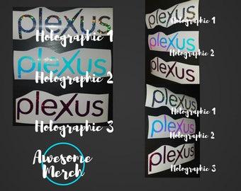 Plexus Swag Decal - Holographic