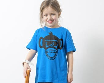 "Bio Kids T-shirt ""monkey"""