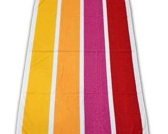 100% Cotton Beach Towel, Holiday Towel 400gsm - Ref. Cabana Girl