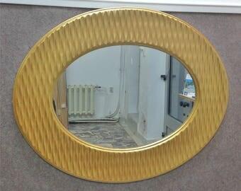 M17 Antique Solid Wood Mirror
