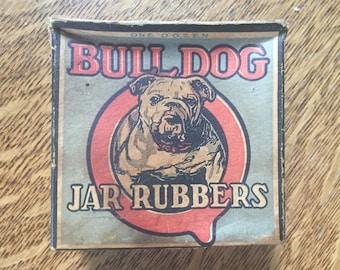 Bull Dog Jar rubbers