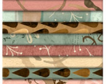 """But First COFFEE! - (24) 2.5"""" Strips - Wilmington Prints - by Katie Doucette"""