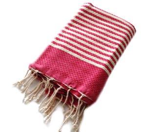 Tunisia Fouta Towel/ Beach Towel / Bath Towel/ Beach Blanket