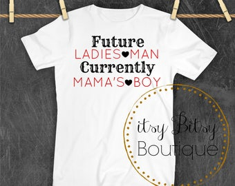 Valentine's Mama's Boy Top Infants Toddlers Youth