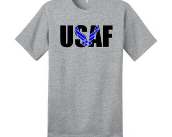USAF T-Shirt | United States Air Force | Airmen | Veteran | Military