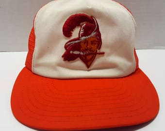 NFL Tampa Bay Buccaneers Vintage Mesh Trucker Adjustable Snapback Hat