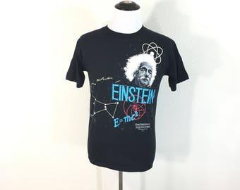 80's vintage einstein 50/50 blend t-shirt
