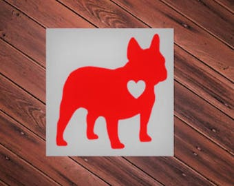 Frenchton Vinyl Decal | Frenchton Sticker | Frenchton Vinyl Sticker | Decal for Laptop | Decal for Car | Decal for Yeti | Decal for Window