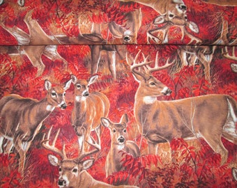 Deer fabric cotton 100% cotton fabrics