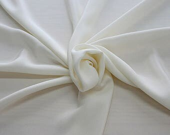 305005-Crepe marocaine Natural Silk 100%, width 130/140 cm, made in Italy, dry cleaning, weight 215 gr