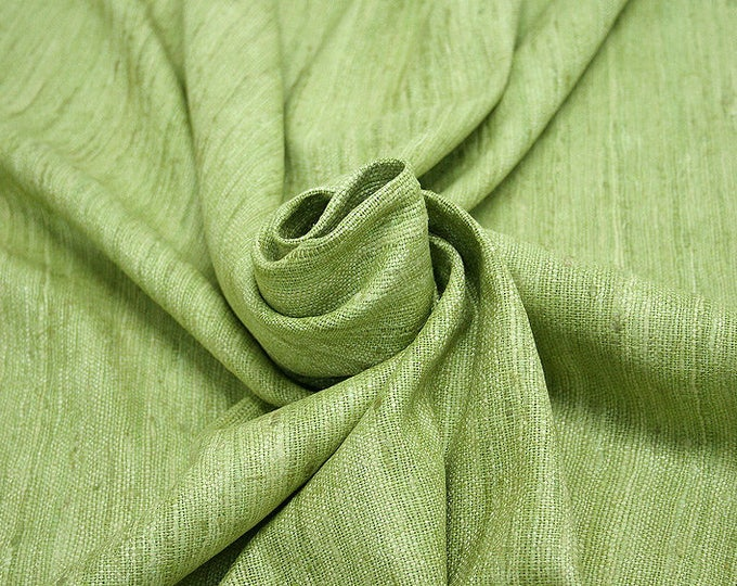 451089-natural Silk Rustic 100%, wide 135/140 cm, made in India, dry-washed, weight 360 gr