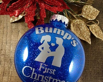 Bumps First Christmas | Pregnant Mom Gift | Christmas Pregnancy Announcement | Baby Bump Reveal | Baby Christmas | Pregnancy Announcement