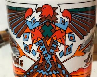 Vintage Southwestern Boho Design -Las Vegas Coffee Mug-Western Supply 1992