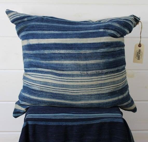 Stripe Mud Cloth Pillow Cover