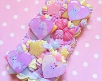 For Iphone 7 - Rainbow vintage toys kitty cat kitties pony Decoden case