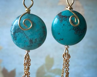 Turquoise and Onyx