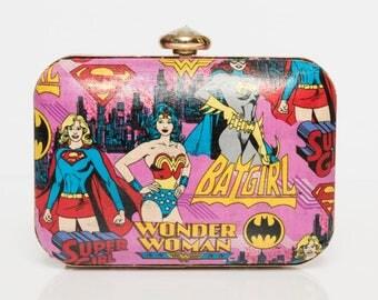 Wonder Woman box clutch