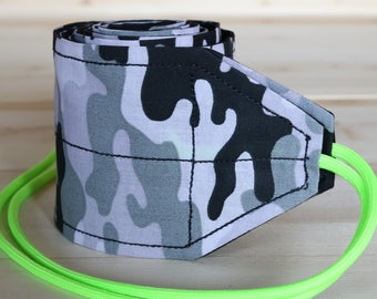 TraininGear Wrist Wraps Gray Black Camo Weightlifting Lifting Crossfit WOD Green Training Gear