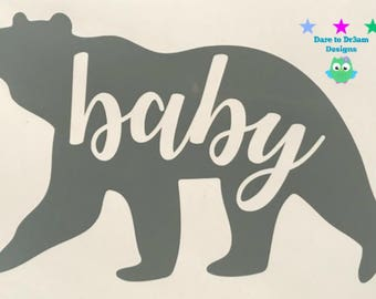 Bear Family Decals