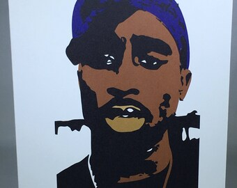 2 Pac Ain't Nothing But  A Gangsta Party Card #2