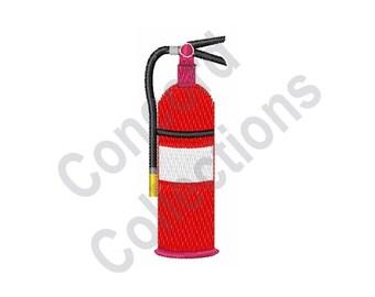 Fire Extinguisher - Machine Embroidery Design