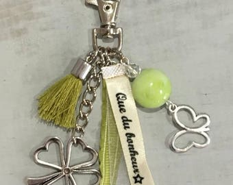 """Grigri Lili Keychain, bag charm and my * """"Happiness that"""" Creations"""
