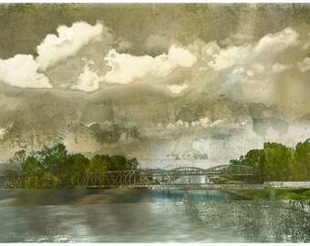 The Green Bridge, limited edition fine art print