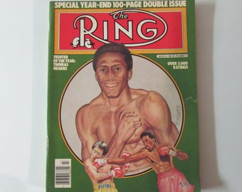 The Ring Magazine March 1981 Thomas Hearns