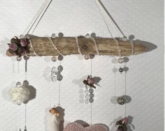 Hanging Driftwood for child's room