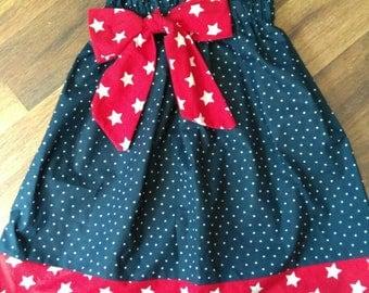 Patriotic Sun Dress size 2-3