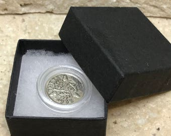 85th birthday gift 1933 Silver Threepence boxed with coin capsule