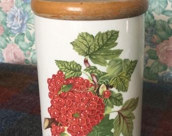 Portmeirion  Pomona  Storage Jar - Red Currant