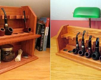 Smoking Pipe Rack Plan 2 Pack Build Your Own Craftsman Style Racks Save 25