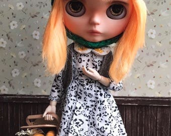 Sale% Custom Blythe doll+clothes +hat includes