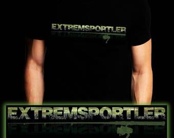 Extreme Athletes | Waller | Carp | Catfish | Fishing T-shirt | S-3XL