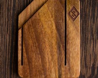 Handmade Wooden Wallet, Walnut Wallet, Armenian Handmade Wallet - Soleness, Unique Gift
