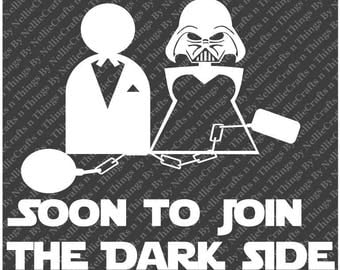 Soon to join the Dark Side Darth Vader SVG