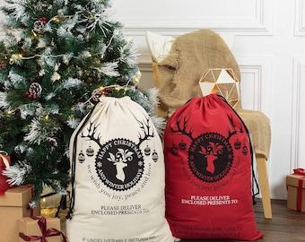 Christmas Santa Sack Bags