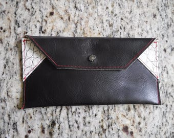 Genuine Leather Carry All Pouch