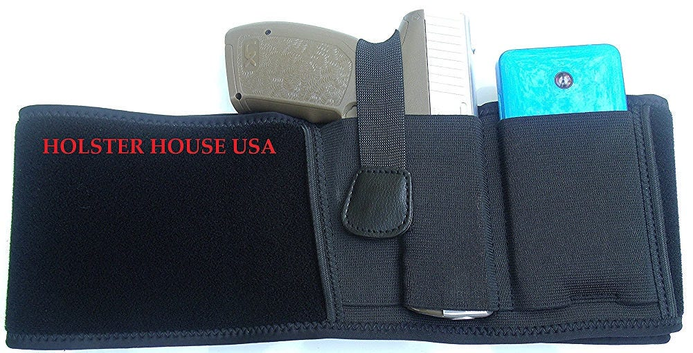Neopreno vientre banda pistolera Glock M & P escudo Sig