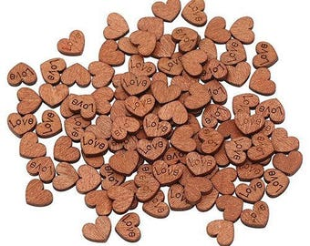 Love Hearts, Wooden Hearts, Laser Hearts, Wedding Hearts, Rustic Wedding, Table Confetti, Nature Wedding, Wooden Shapes, Scatter Hearts,