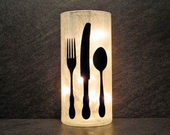 Kitchen Light Forks and Knives