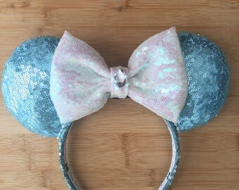 All sequin Cinderella ears