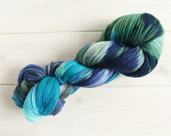 Before the Storm- Life is Strange themed hand dyed yarn - lace weight - 100g -merino wool - Arcadia Bay
